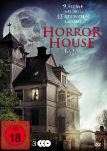 Horror House Box (9 Filme auf 3 DVDs), 3 DVDs