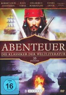 Abenteuer - Die Klassiker der Weltliteratur (23 Filme auf 8 DVDs), 8 DVDs