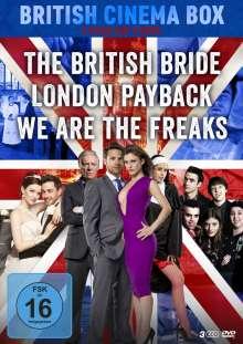 British Cinema Box, 3 DVDs