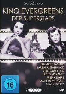 Kino Evergreens der Superstars (21 Filme auf 7 DVDs), 7 DVDs