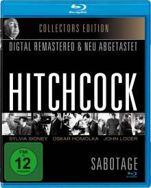 Sabotage (1936) (Blu-ray), Blu-ray Disc