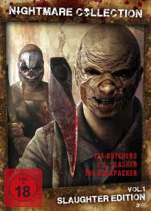 Nightmare Collection Vol. 1: Slaughter Edition, 3 DVDs