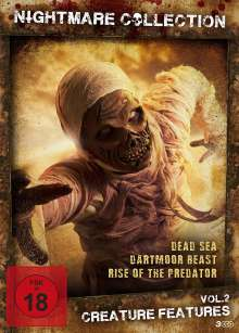 Nightmare Collection Vol. 2: Creature Features, 3 DVDs