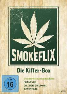 Smokeflix - Die Kiffer-Box, 3 DVDs