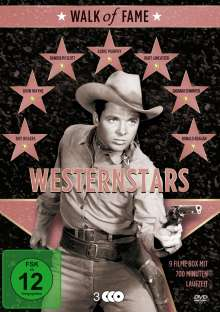 Walk of Fame - Westernstars Vol. 1 (9 Filme auf 3 DVDs), 3 DVDs