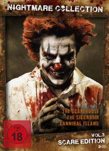 Nightmare Collection Vol. 3: Scare Edition, 3 DVDs