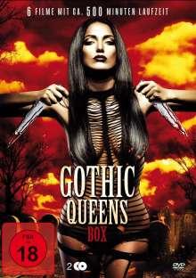 Gothic Queens Box (6 Filme auf 2 DVDs), 2 DVDs