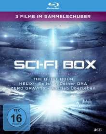 Sci-Fi Box (3 Filme im Sammelschuber) (Blu-ray), 3 Blu-ray Discs