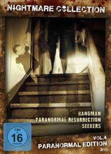 Nightmare Collection Vol. 4: Paranormal Edition, 3 DVDs