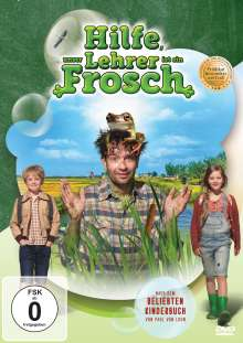 Hilfe, unser Lehrer ist ein Frosch, DVD
