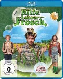 Hilfe, unser Lehrer ist ein Frosch (Blu-ray), Blu-ray Disc