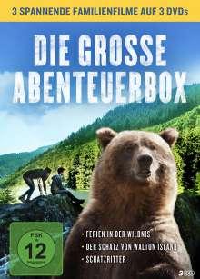 Die grosse Abenteuer-Box, 3 DVDs