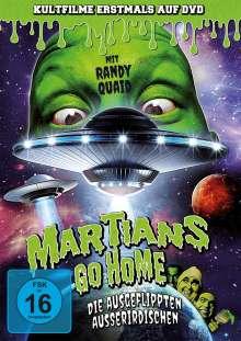 Martians go Home - Die ausgeflippten Ausserirdischen, DVD