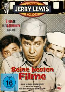 Jerry Lewis - Seine besten Filme (6 Filme auf 2 DVDs), 2 DVDs