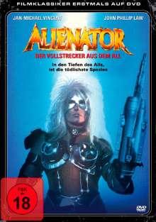 Alienator - Der Vollstrecker aus dem All, DVD