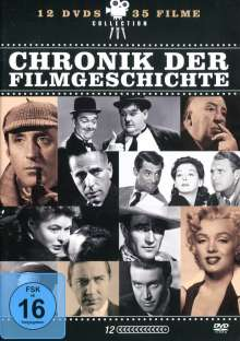 Chronik der Filmgeschichte (35 Filme auf 12 DVDs), 12 DVDs