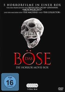 Das Böse - Die Horror Movie Box, 5 DVDs