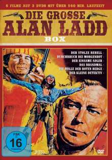 Die grosse Alan Ladd Box (7 Filme auf 3 DVDs), 3 DVDs