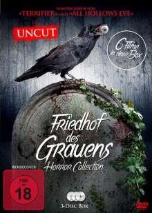 Friedhof des Grauens - Horror Collection (6 Filme auf 3 DVDs), 3 DVDs