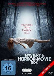 Mystery & Horror-Movie Box (5 Filme), 5 DVDs