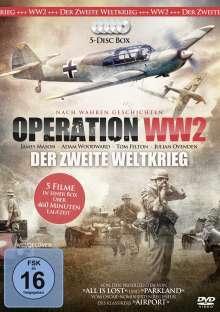 Operation WW 2 - Der Zweite Weltkrieg, 5 DVDs