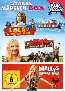 Starke Mädchen-Box (3 Filme), 3 DVDs