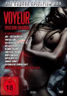 Voyeur - Spass beim Zuschauen (9 Filme auf 3 DVDs), 3 DVDs
