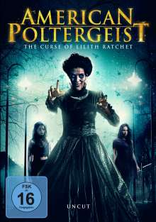 American Poltergeist - The Curse of Lilith Ratchet, DVD