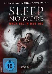 Sleep No More, DVD