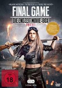 Final Game - Die Endzeit Movie-Box (3 Filme), 3 DVDs
