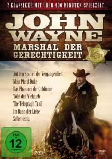 John Wayne - Marshal der Gerechtigkeit (7 Filme auf 2 DVDs), 2 DVDs