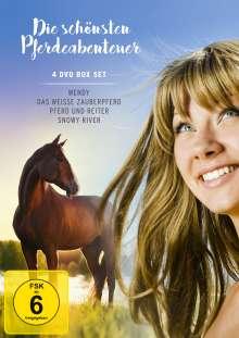 Die schönsten Pferdeabenteuer, 4 DVDs