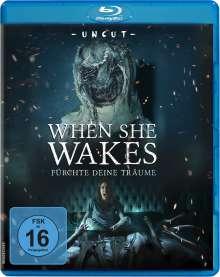 When she wakes (Blu-ray), Blu-ray Disc