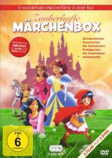 Zauberhafte Märchenbox (6 Filme auf 3 DVDs), 3 DVDs