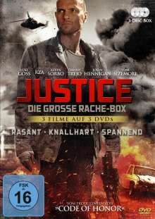 Justice - Die grosse Rache-Box, 3 DVDs
