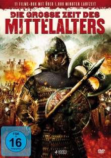 Die grosse Zeit des Mittelalters (11 Filme auf 4 DVDs), 4 DVDs