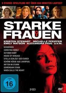 Starke Frauen (9 Filme auf 3 DVDs), 3 DVDs
