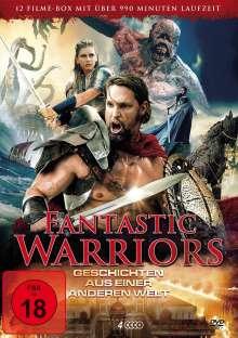 Fantastic Warriors (12 Filme auf 4 DVDs), 4 DVDs