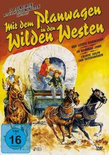 Mit dem Planwagen in den Wilden Westen (3 Filme auf 2 DVDs), 2 DVDs