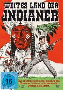 Weites Land der Indianer (9 Filme auf 3 DVDs), 3 DVDs