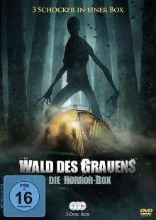 Wald des Grauens - Die Horror Box (3 Filme), 3 DVDs