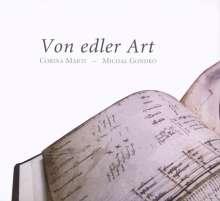 Von edler Art - Deutsche Musik des 15.Jahrhunderts für Tasten- und Zupfinstrumente, CD