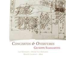 Giuseppe Sammartini (1695-1750): Concerti & Ouvertüren, CD