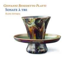 Giovanni Benedetto Platti (1697-1763): Triosonaten aus der Sammlung Schönborn-Wiesentheid, CD