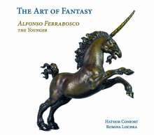 "Alfonso Ferrabosco II (1578-1628): Consort Music ""The Art of Fantasy"", CD"