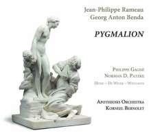 Jean Philippe Rameau (1683-1764): Pygmalion (Acte de Ballet), CD