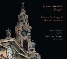 Johann Sebastian Bach (1685-1750): Sonaten & Partita für Traversflöte, CD
