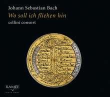 "Johann Sebastian Bach (1685-1750): Transkriptionen für Gambentrio - ""Wo soll ich fliehen hin"", CD"