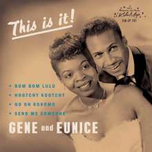 "Gene & Eunice: Bom Bom Lulu EP (Limited-Edition), Single 7"""