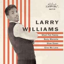 "Larry Williams (1935-1980): Short Fat Fanny EP, Single 7"""